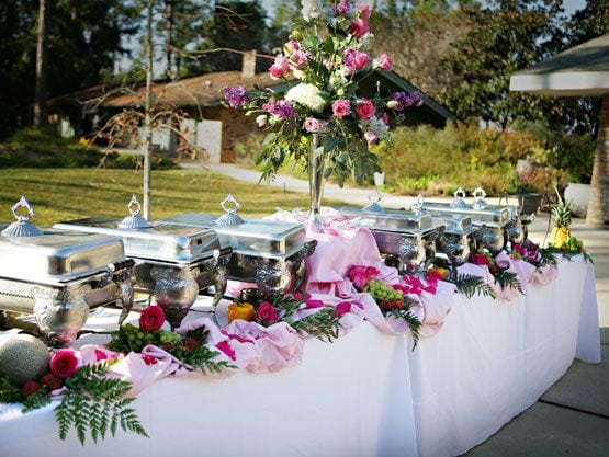 Buffet table 2