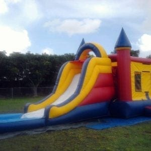 Combo Bounce House/Slide/Pool.