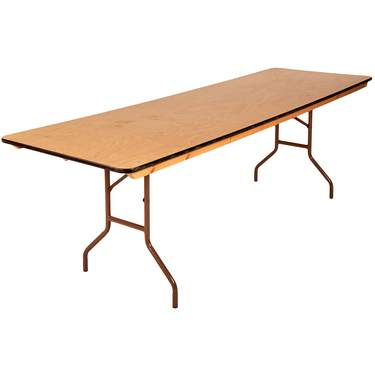 Long Table 8′ X 30″