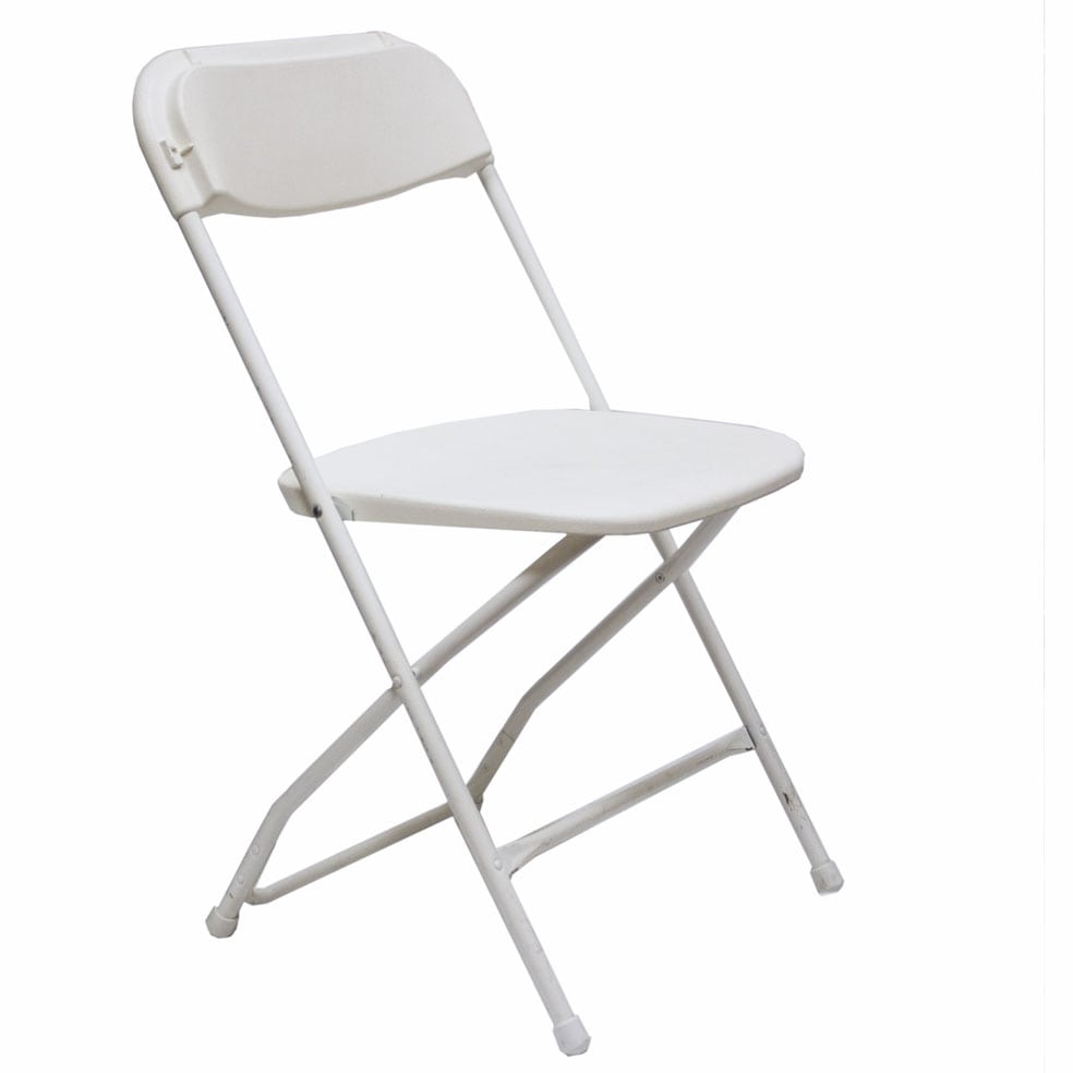 Tremendous White Plastic Folding Chair Ocoug Best Dining Table And Chair Ideas Images Ocougorg