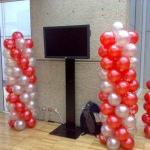 Balloons Columns (8′)