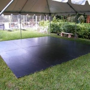 Plywood Gray Dance Floor (16′ X 16′)