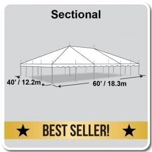 Frame Tent 40′ X 60′