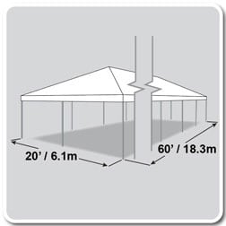 Frame Tent 20′ X 60′