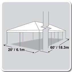Frame Tent 20′ X 60′