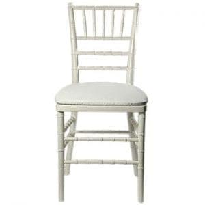 White Chiaviari Chair