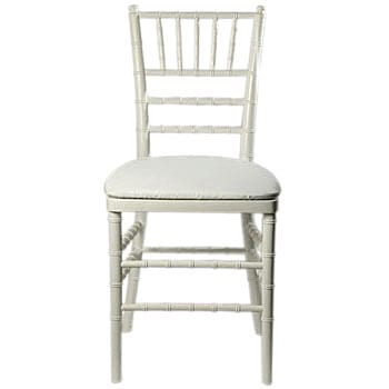 White Chiaviari Chair